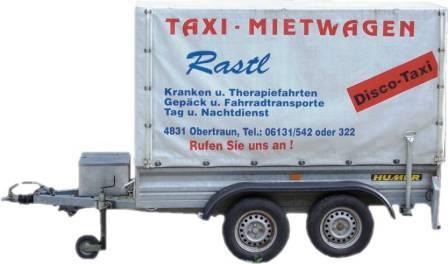 Taxi Anhänger